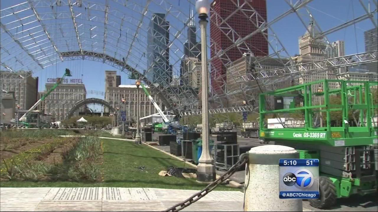 Draft Town in Grant Park to give fans free NFL experience