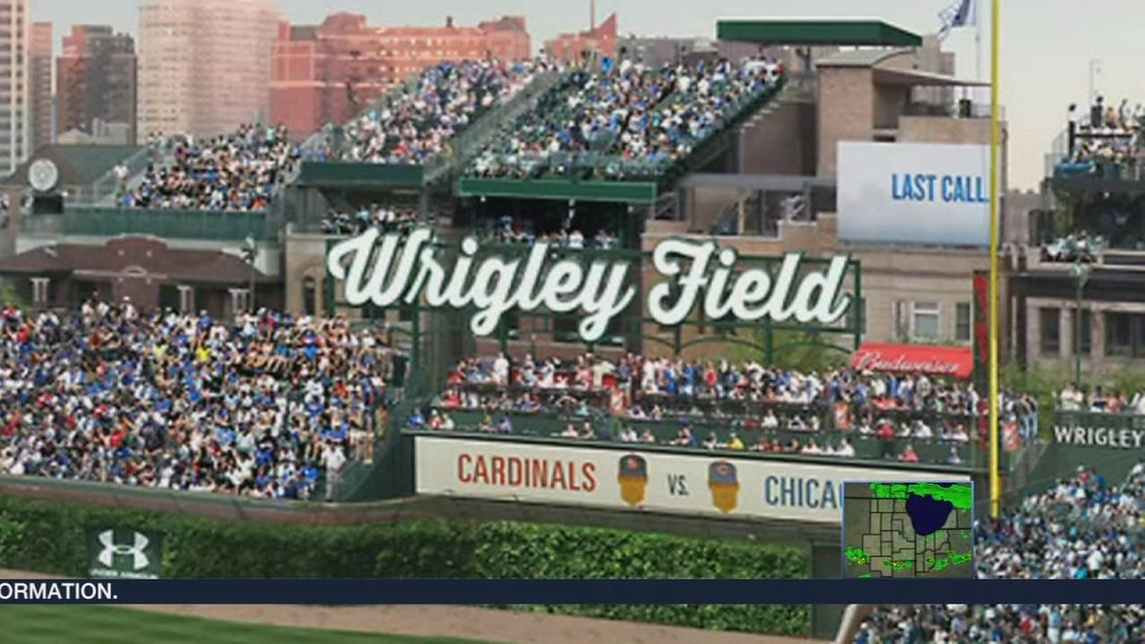 New Wrigley Field bleachers will open Monday