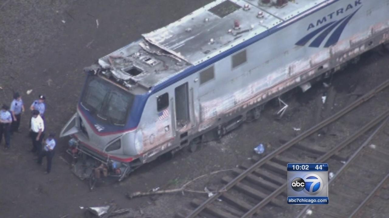 Amtrak train exceeded 100 mph before derailment, NTSB says