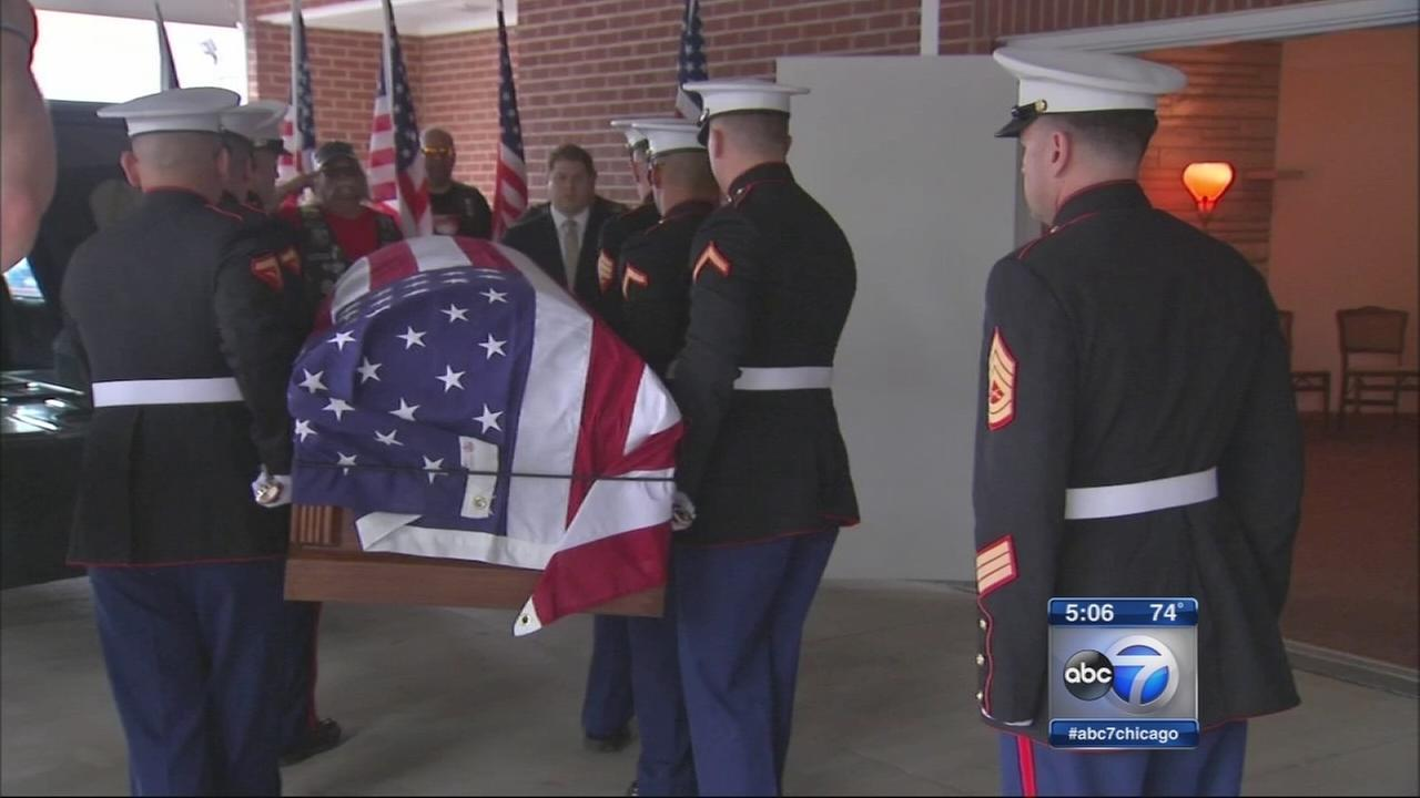 WWII Marines remains return home