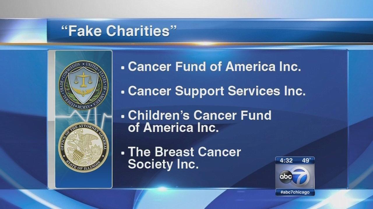 Cancer charities accused of fraud