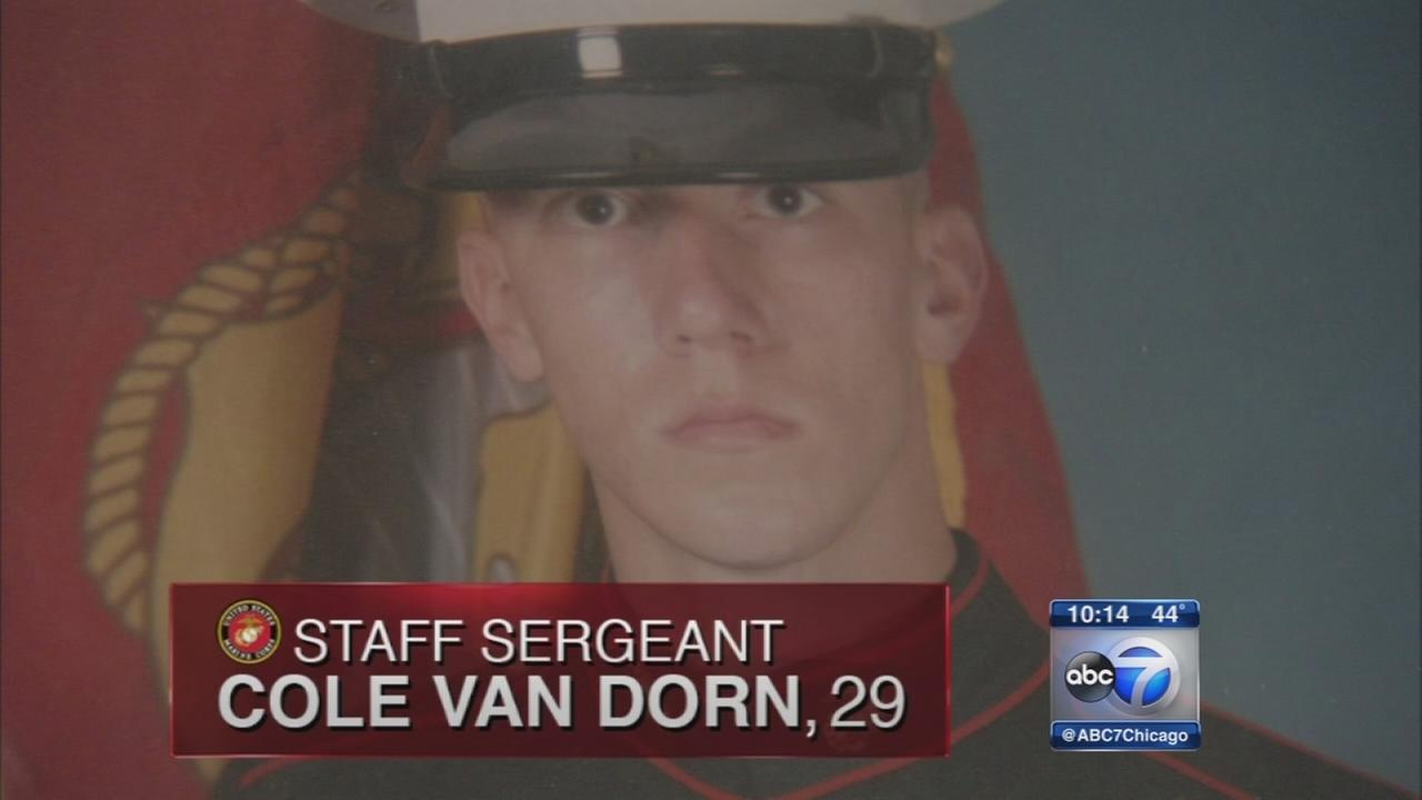 Father of Marine grapples with death of son