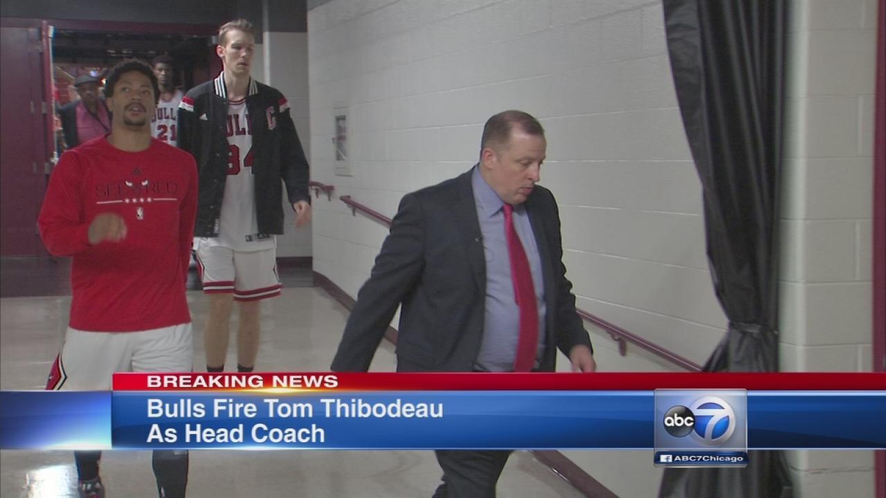 Tom Thibodeau fired