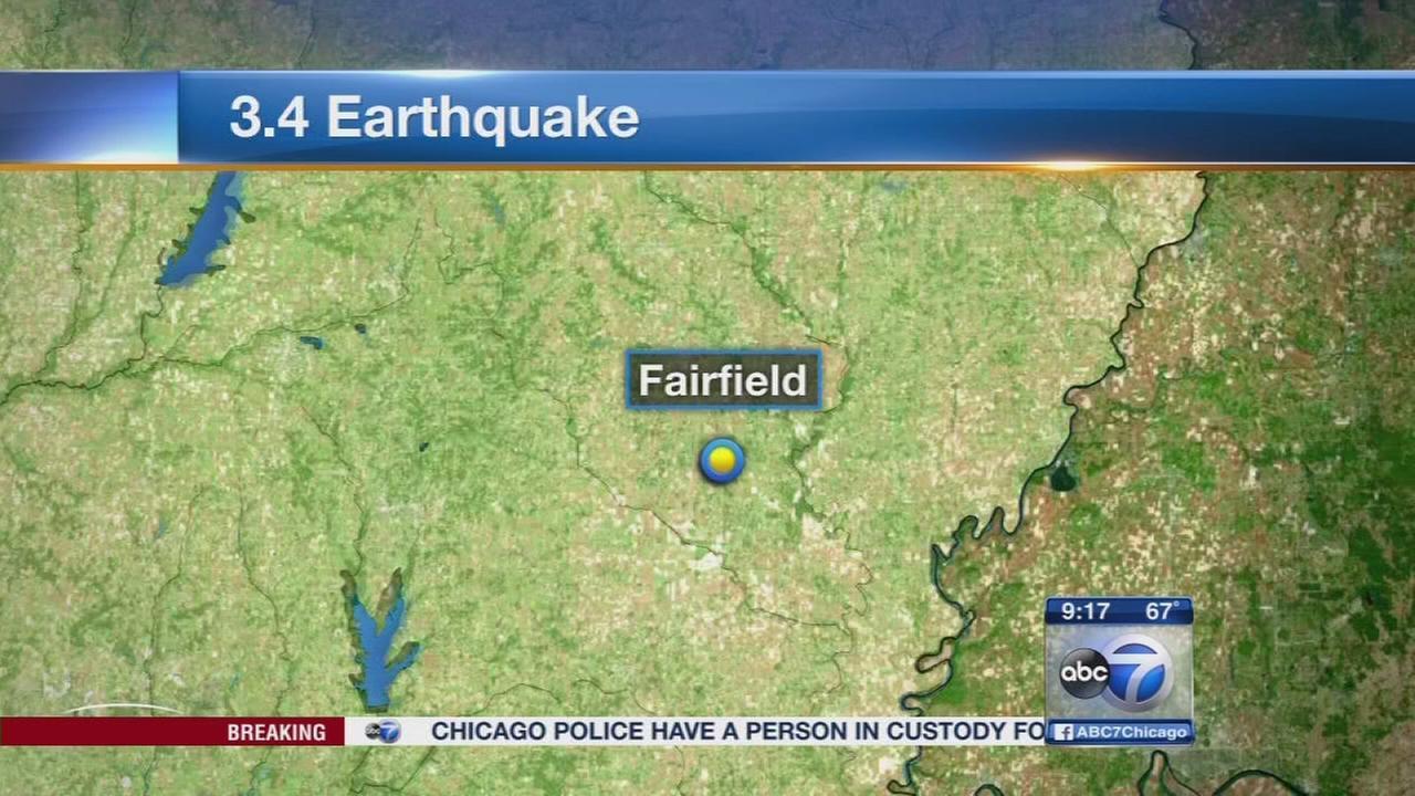 Earthquake hits Downstate Illinois