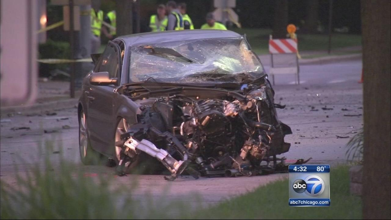 Park Ridge crash may have been caused by racing