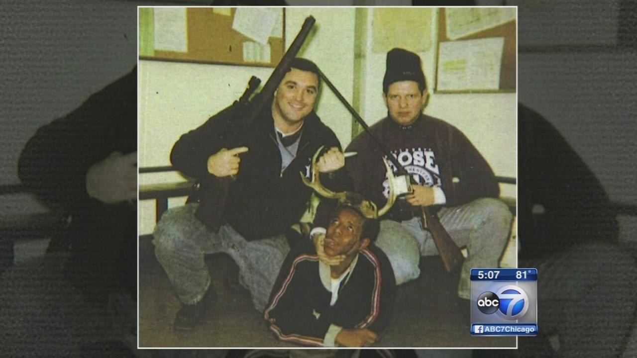 Officers firing upheld over racially charged photo