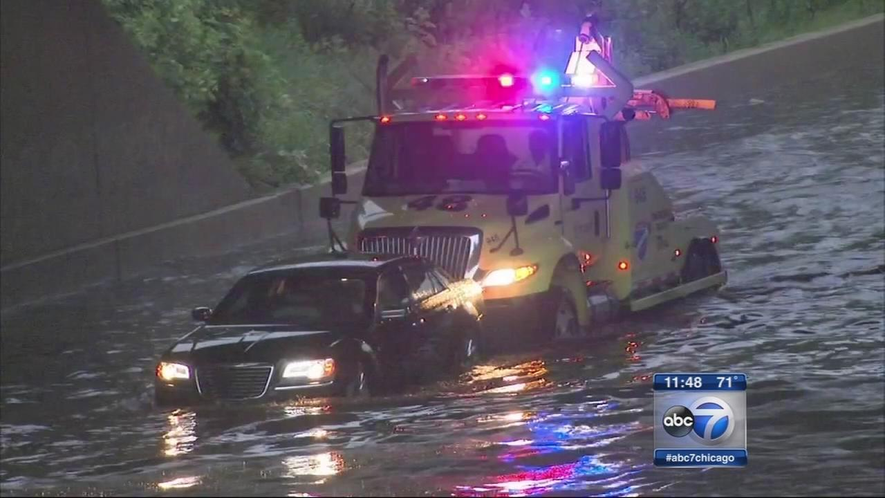 Storms cause widespread flooding, travel delays