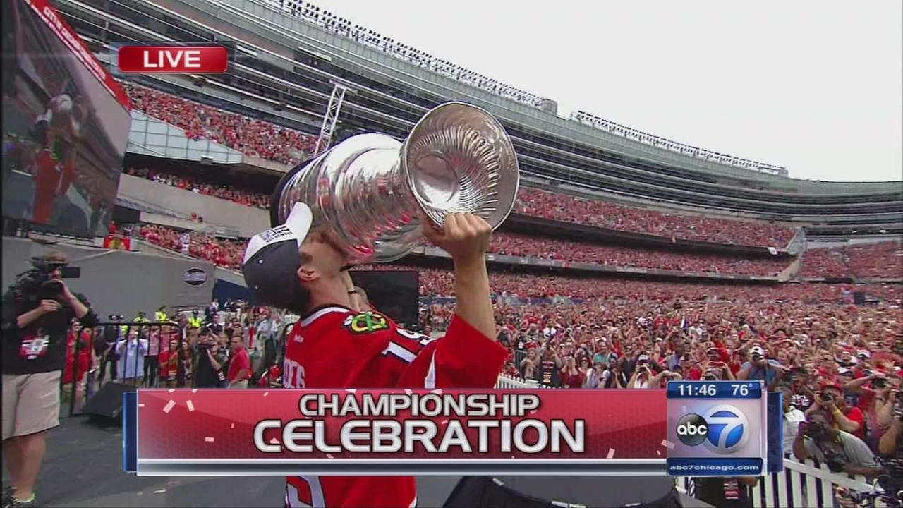 Blackhawks Championship Celebration - Rally Part 2