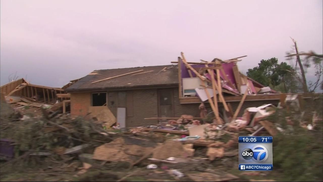 Coal City tornado victims prepare for rain