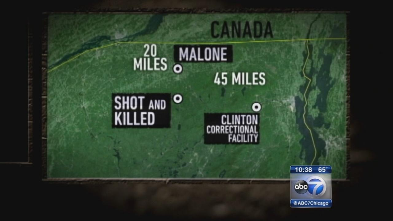 1 escaped murderer fatally shot in NY woods, other is on run