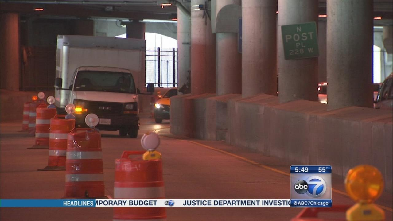 7 on the Streets: Lower Wacker Drive lane closures