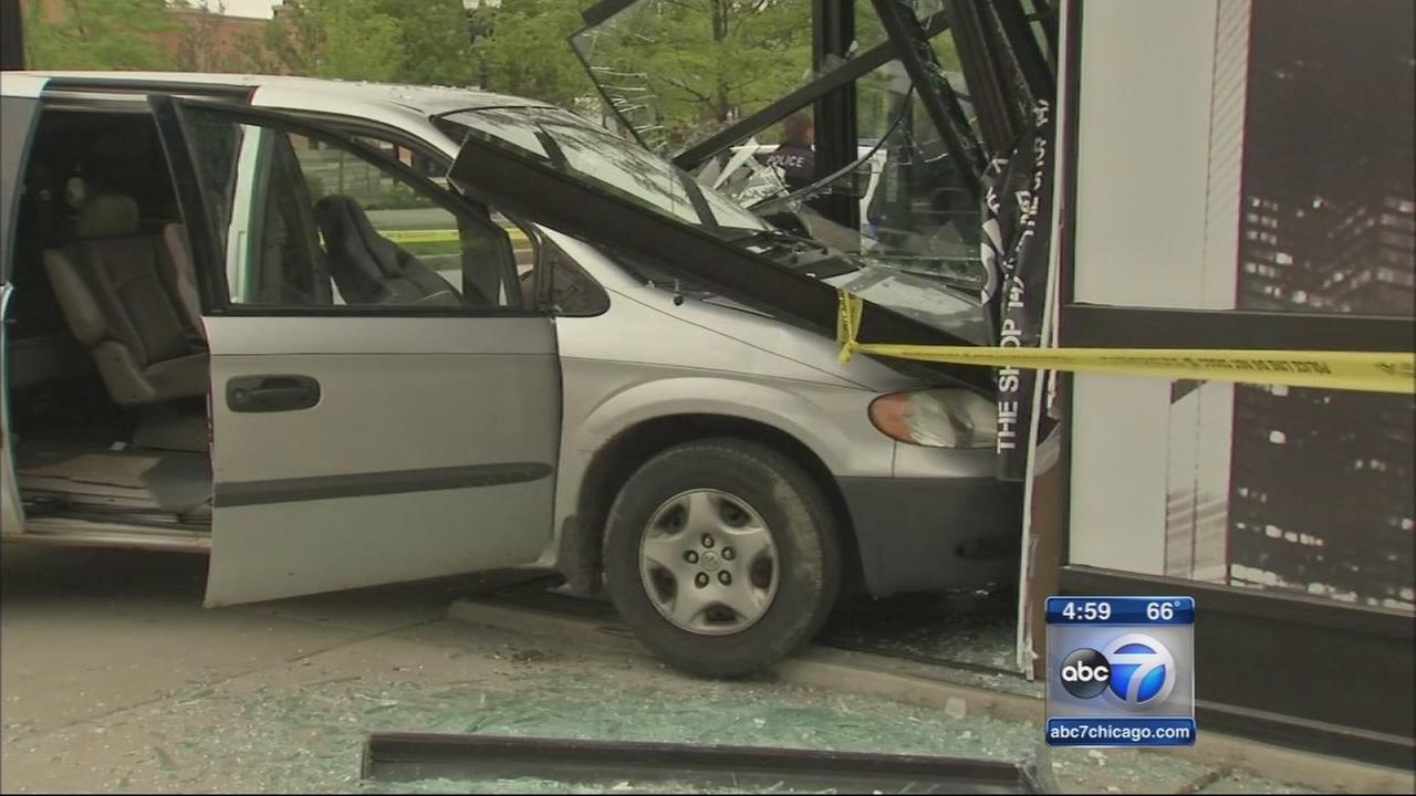 Crash-and-grab under investigation in Beverly
