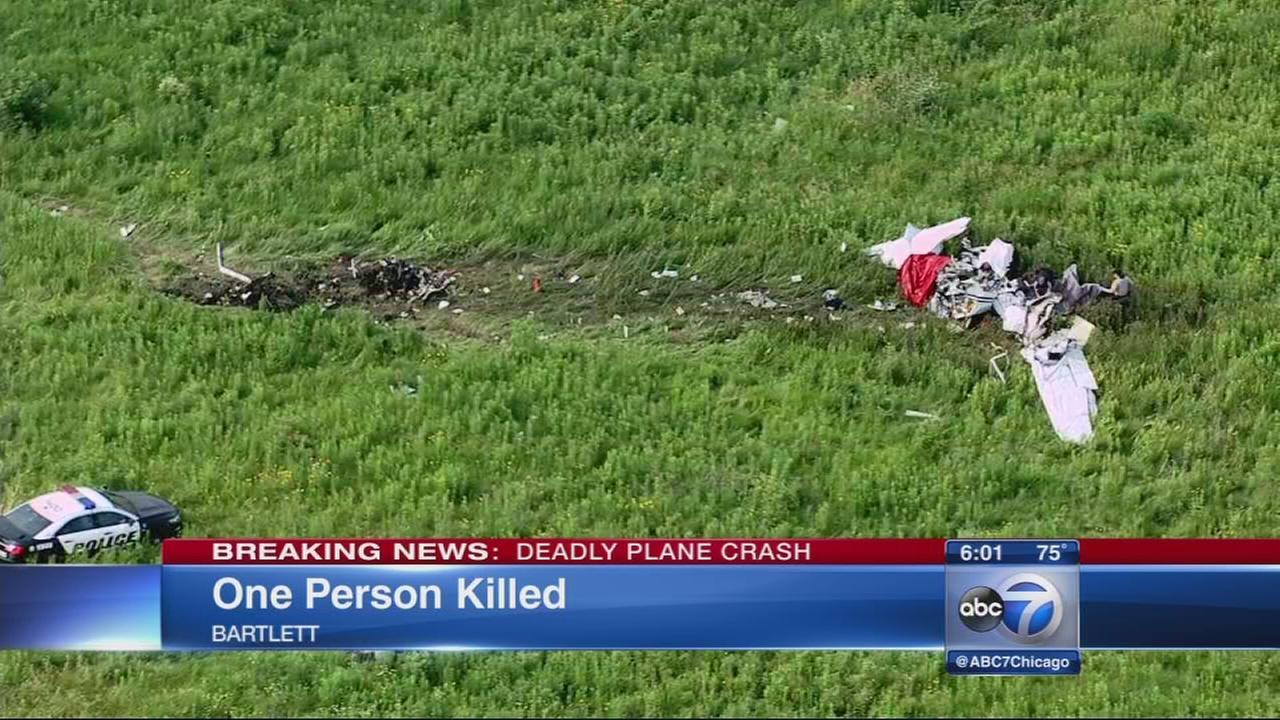 One killed in Bartlett plane crash
