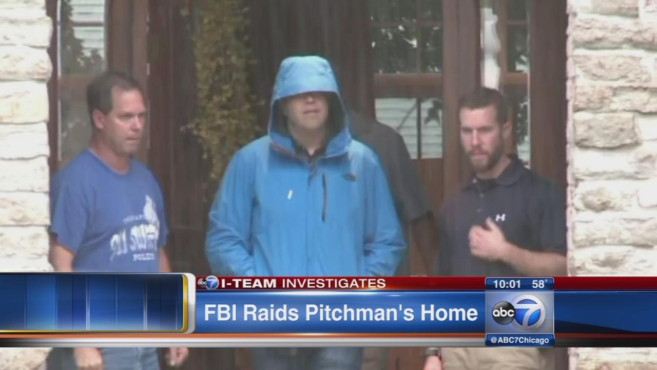Subway pitchmans home raided