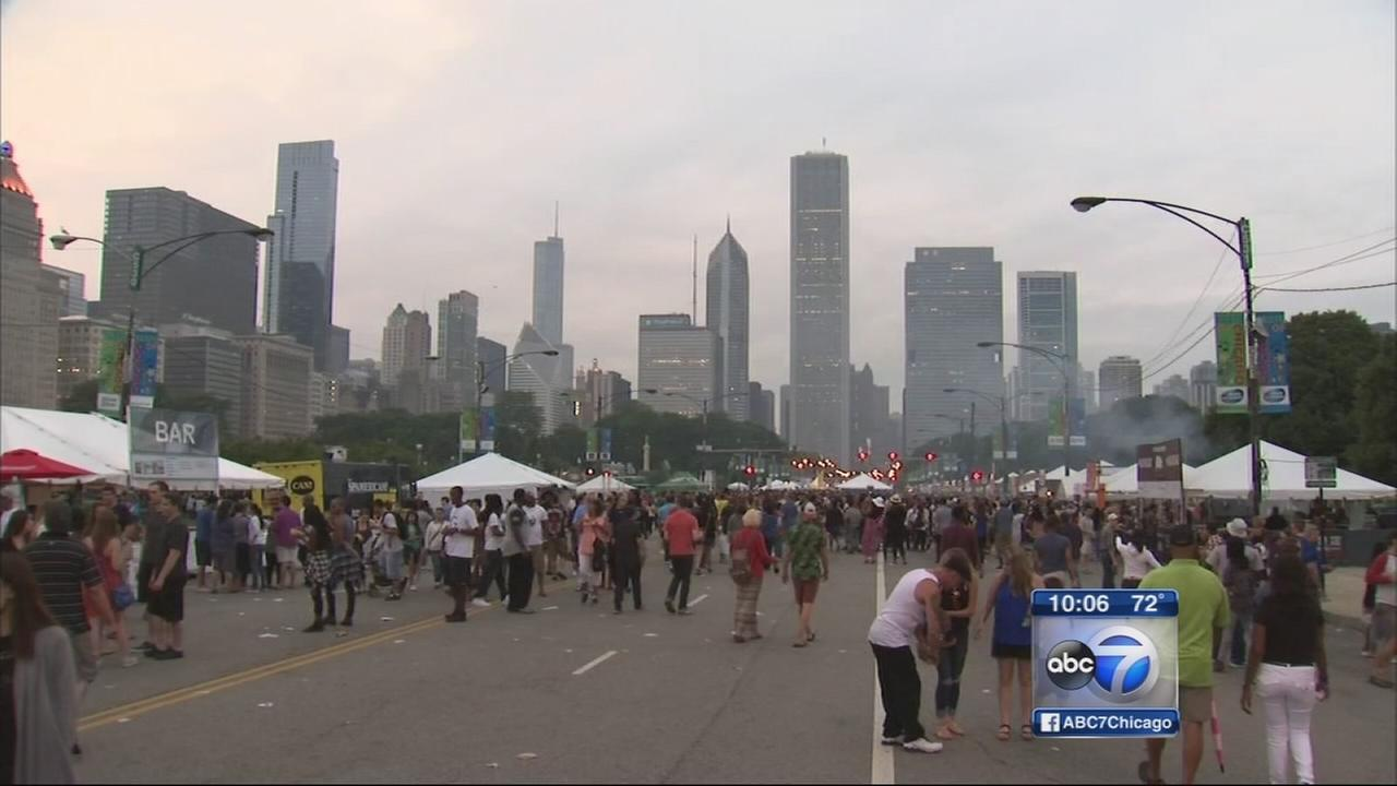 Taste of Chicago, Crosstown Classic drawing big crowds