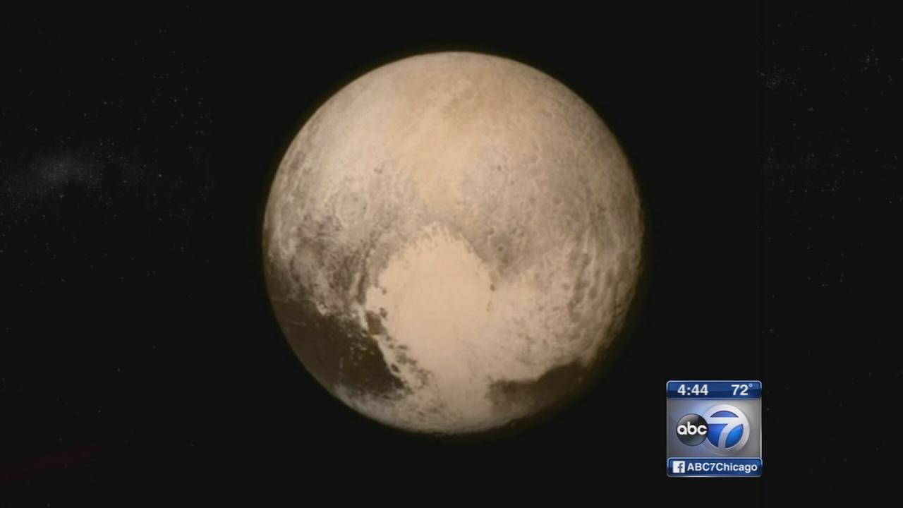 Pictures from Pluto