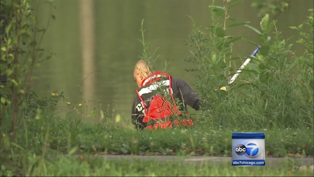 Police search Marquette Park lagoon