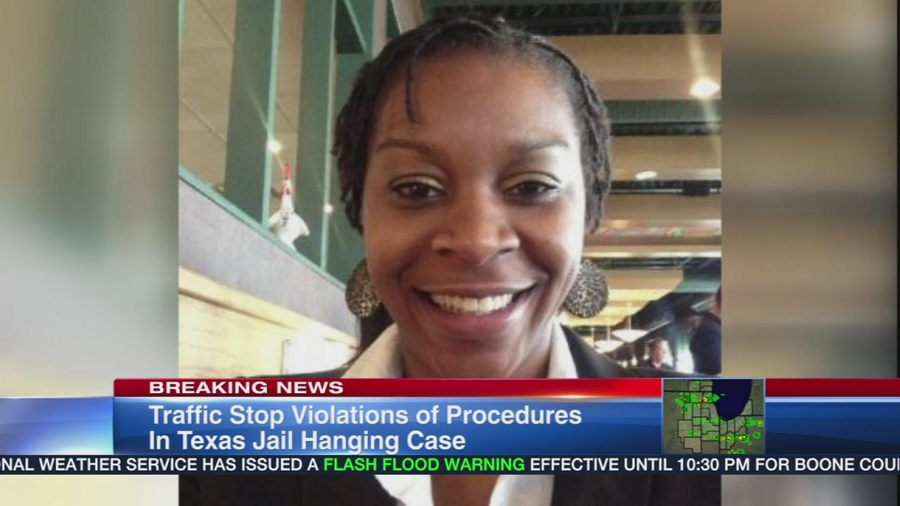 Violations found during arrest of Sandra Bland