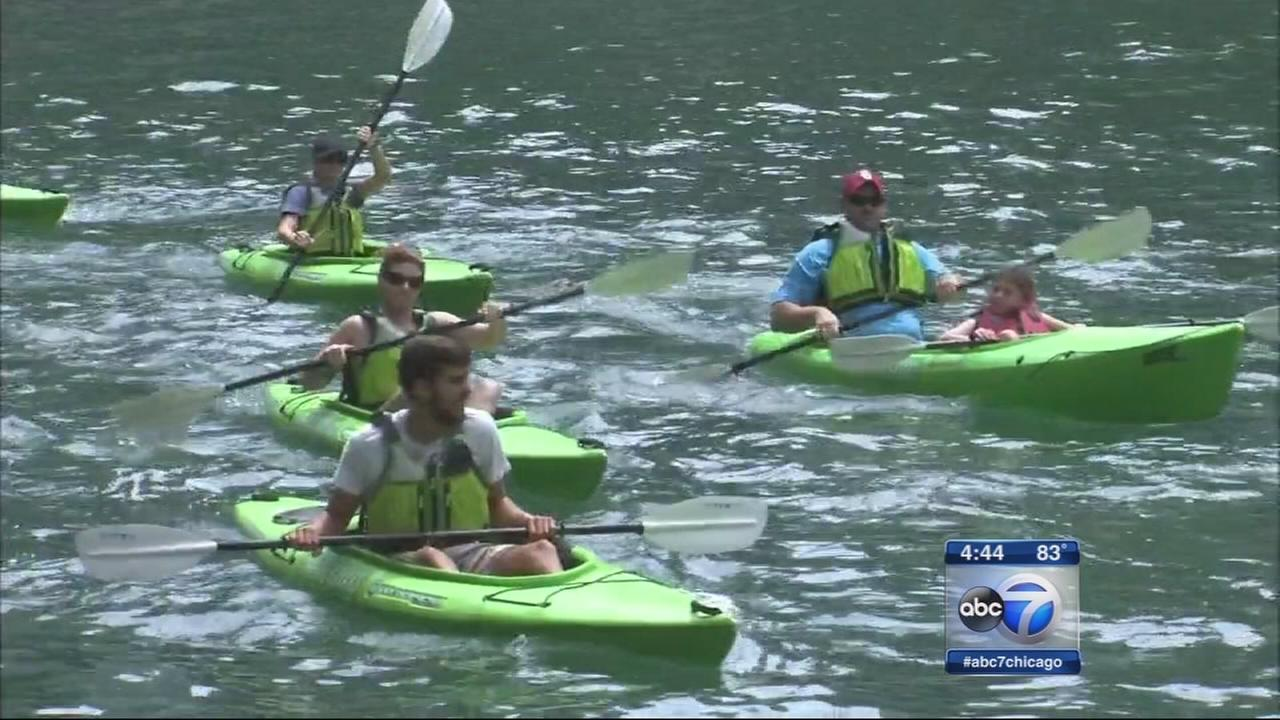 Chicago River boat traffic increases