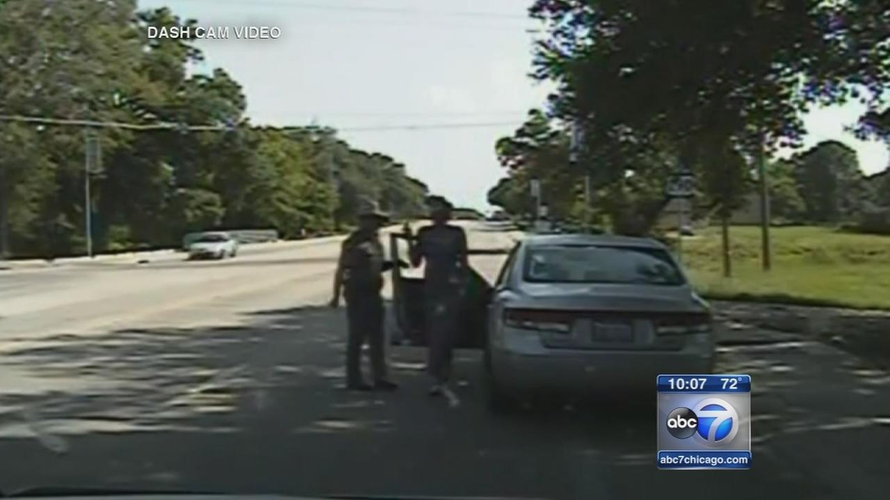 Sandra Bland dash cam arrest video released