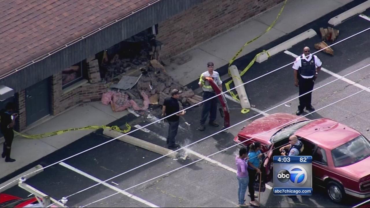 Car crashes into Beach Park daycare