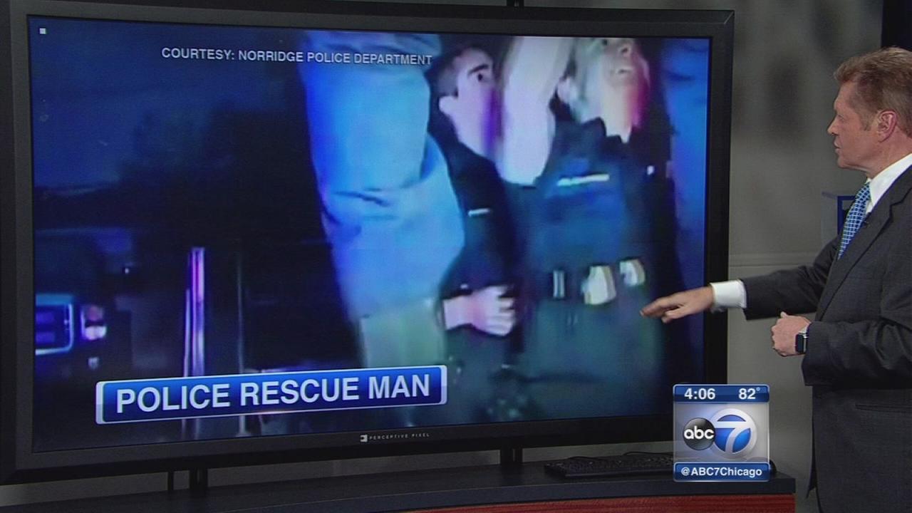 Norridge police rescue
