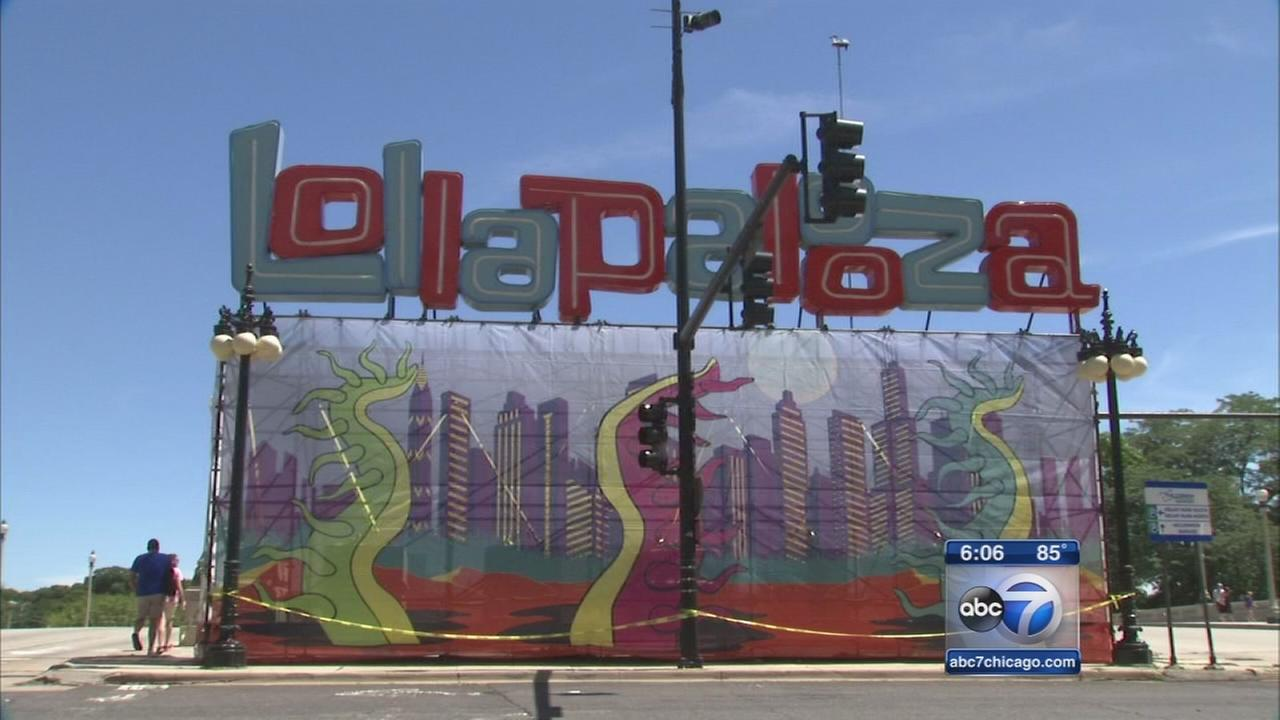 Lollapalooza preparations under way