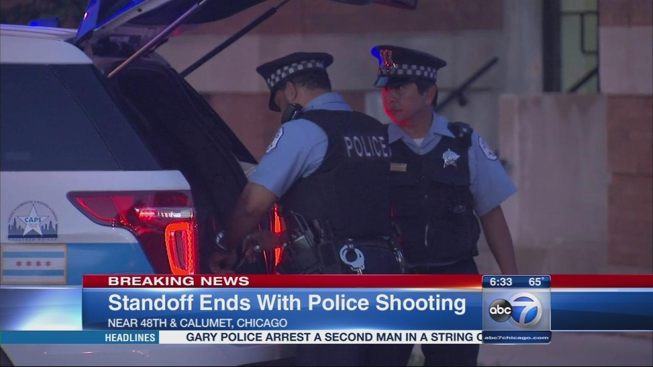 Bronzeville standoff ends in shootout