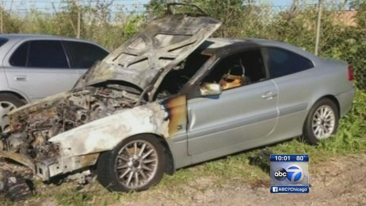 Car fire survivor searches for Good Samaritan