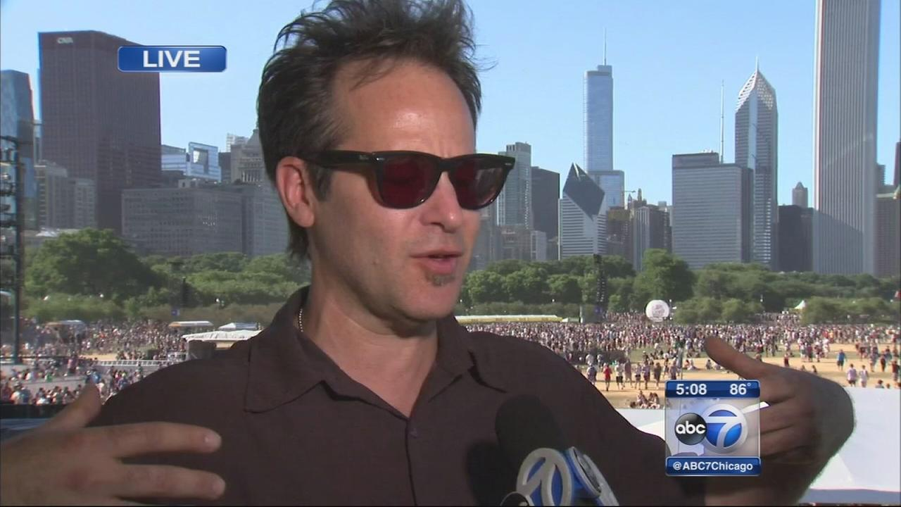 Performer describes Lollapalooza from on stage
