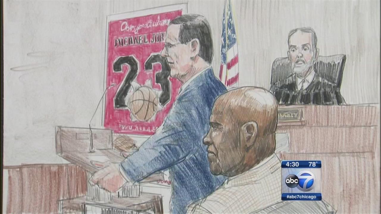 Michael Jordan in court for brand trial