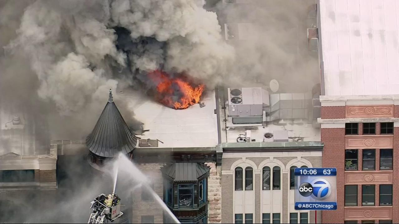 Cleanup begins after Old Town fire