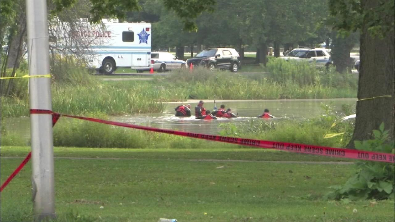 Chicago PD drains park lagoon where toddler's body parts found