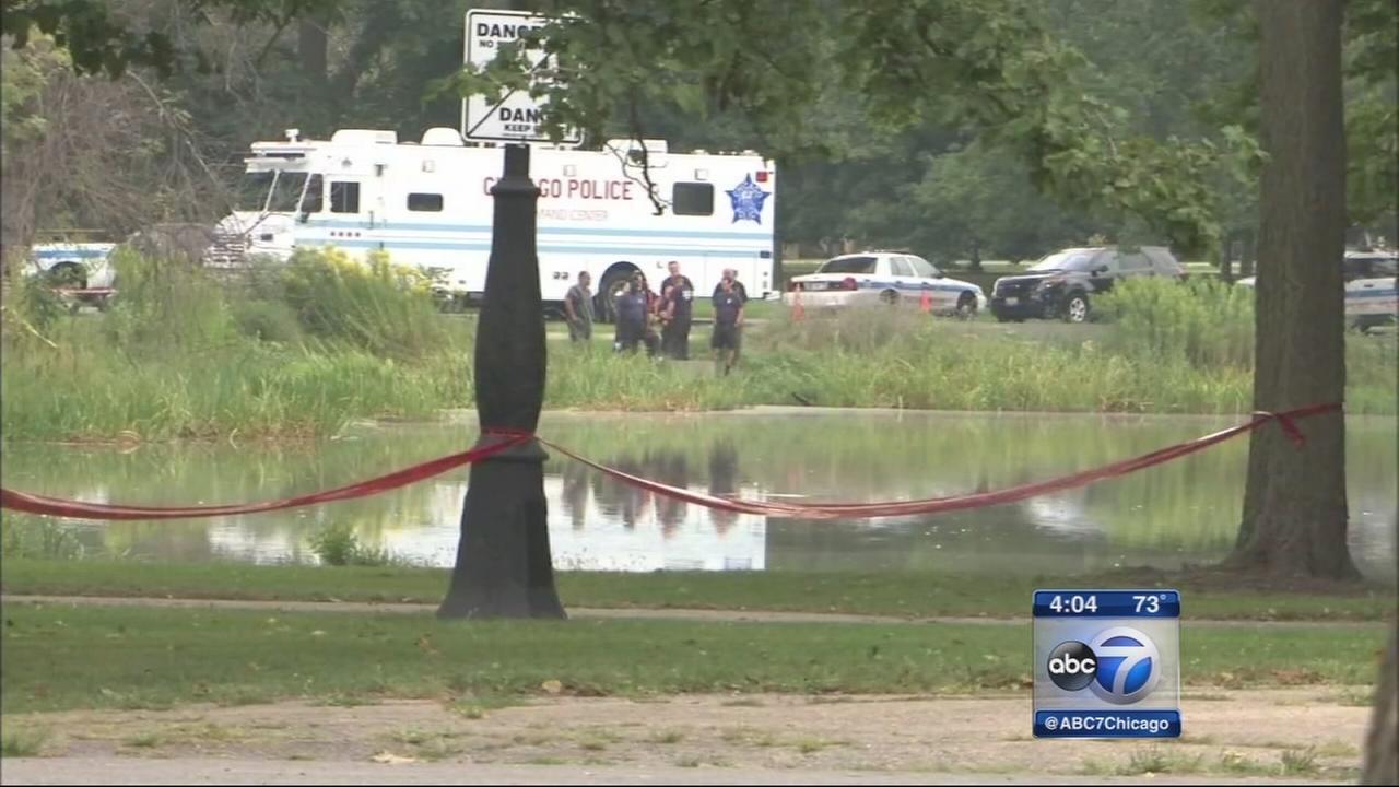 Garfield Park lagoon draining could take days