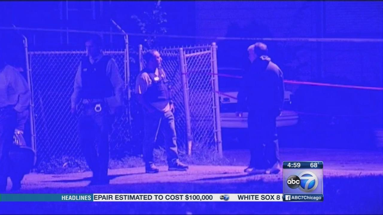 Man shot by police found under bed