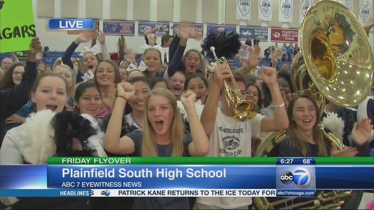 Friday Flyover: Plainfield South High School