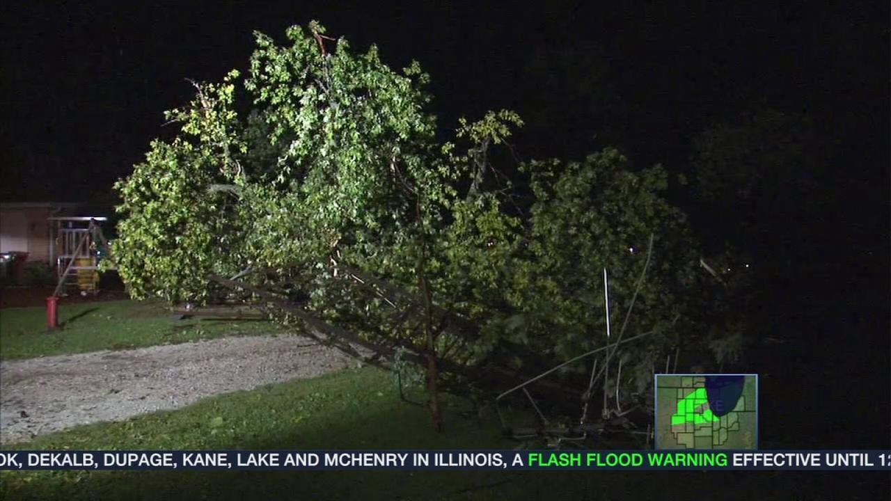Tornado reported near Frankfort