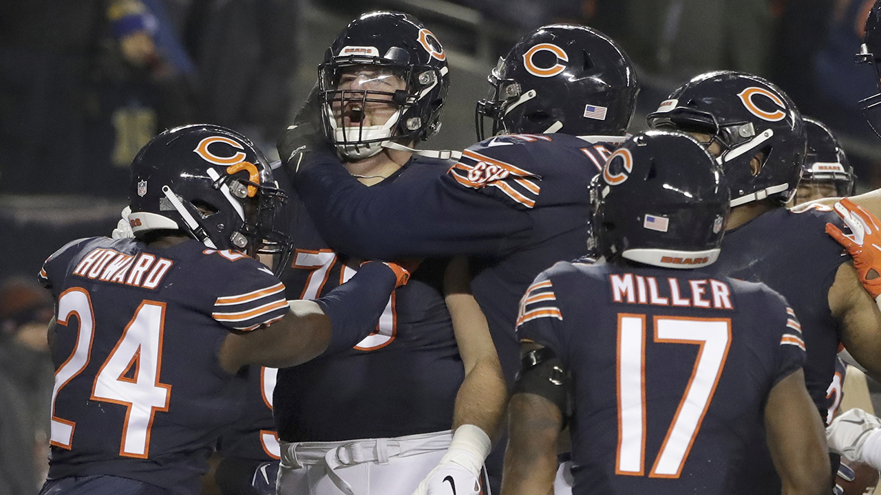 The Chicago Bears moved closer to locking up a playoff spot after defeating the Los Angeles Rams