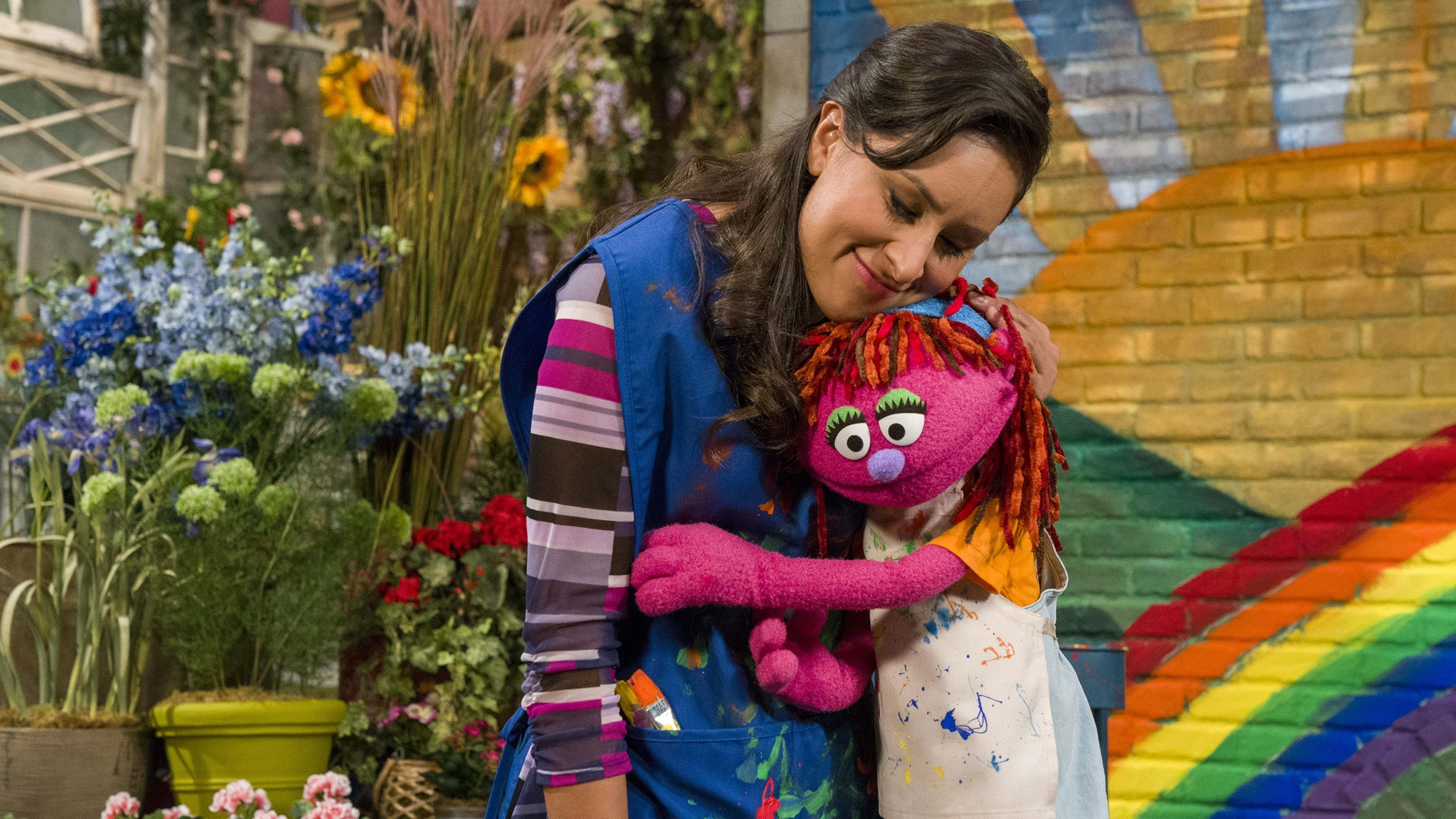 For the first time, a resident of Sesame Street is experiencing homelessness -- and the hope is that her story can help sweep the clouds away for the growing number of young chil