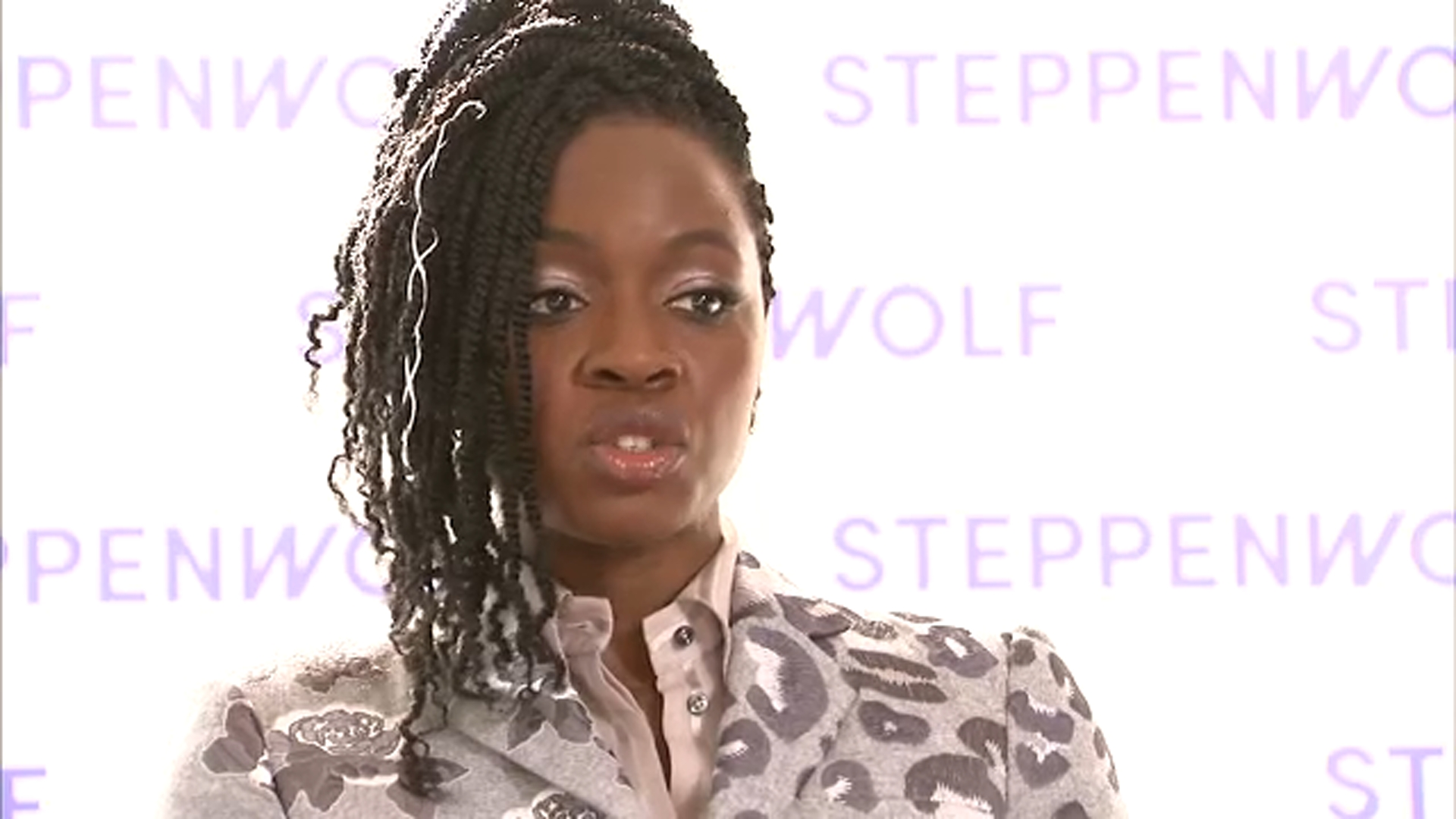 Walking Dead actress Danai Gurira talks with ABC7s Janet Davies