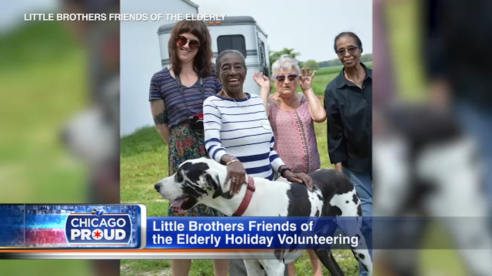 Little Brothers - Friends of the Elderly brings joy to the lives of senior citizens who may otherwise be living in isolation.