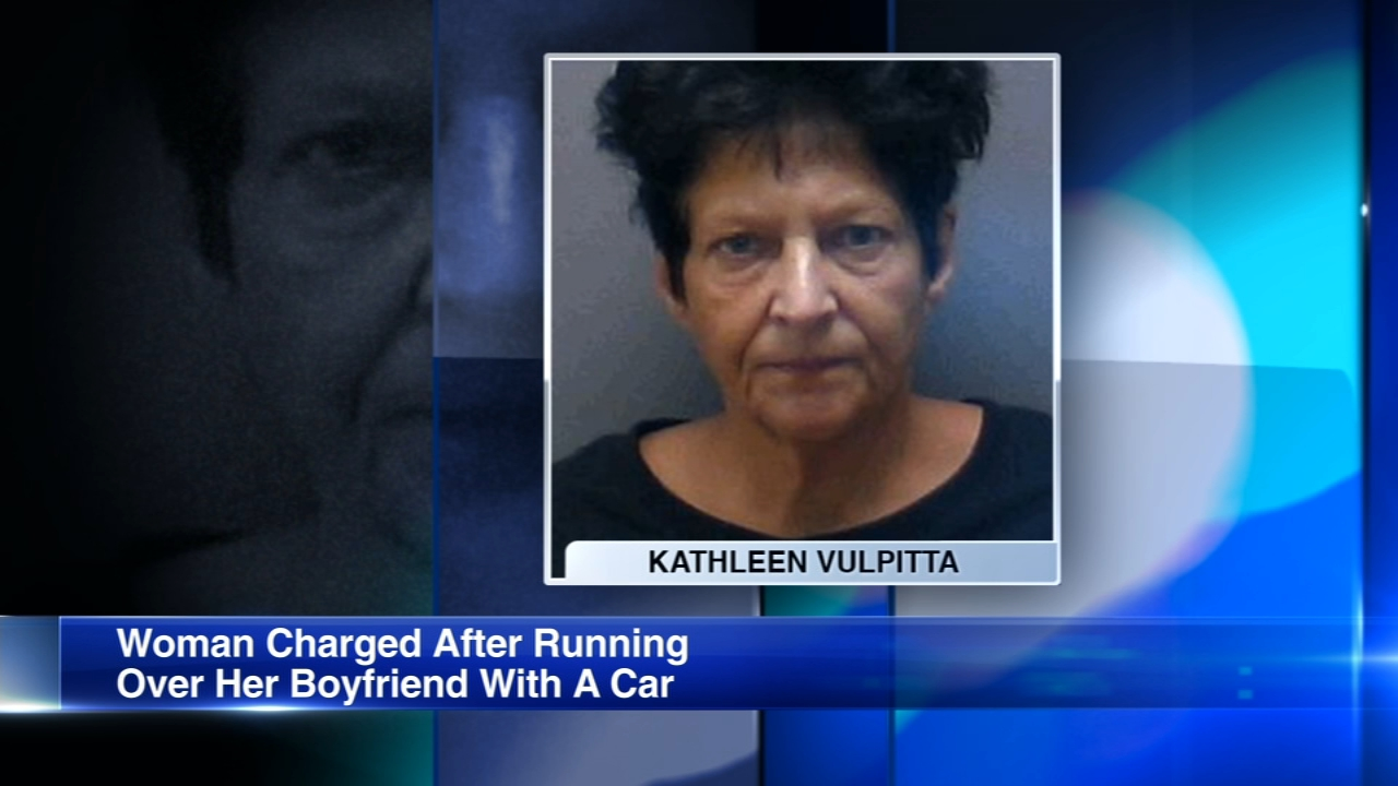 A woman was charged with murder after allegedly using her boyfriends vehicle to run over and kill him Thursday night in the parking lot of a resort in west suburban St. Charles.