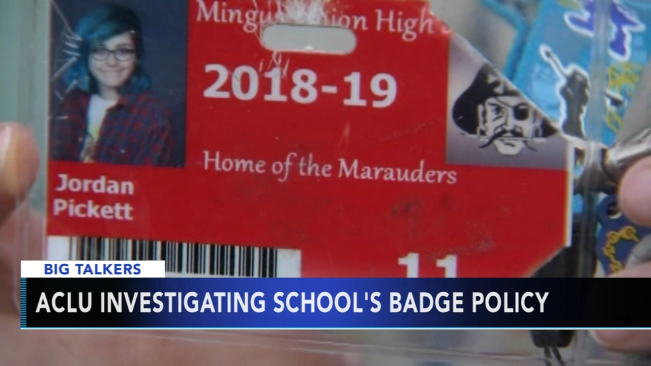 Some are calling a new badge policy at an Arizona high school a modern day scarlet letter.