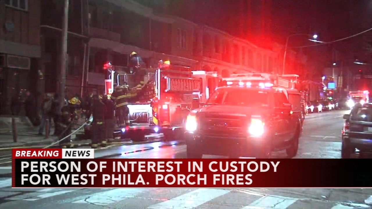 Person of interest in custody for West Phila. fires. Katherine Scott reports during Action News Mornings on January 2, 2019.