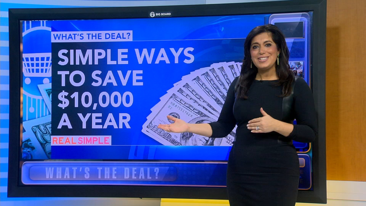Whats the Deal: Simple ways to save up to $10k this year - Alicia Vitarelli reports during Action News at 4:30pm on January 2, 2019.