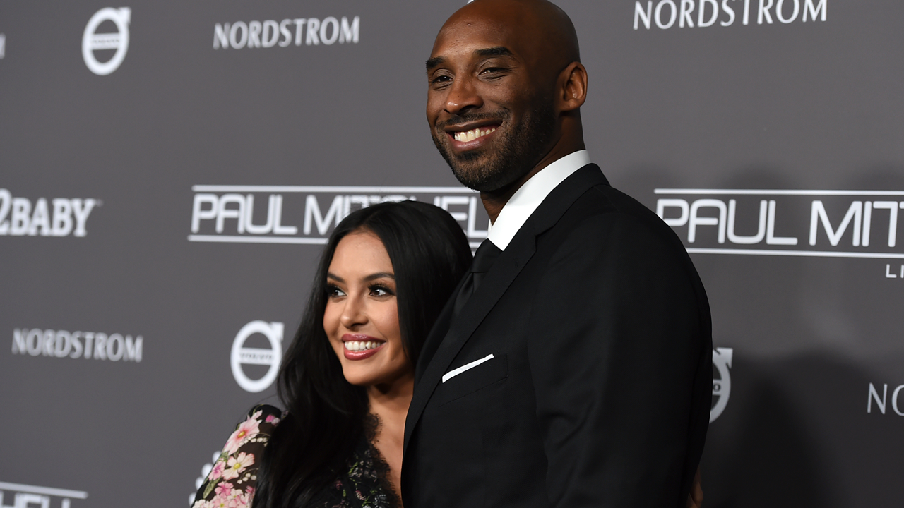 Kobe Bryant, right, and Vanessa Laine Bryant attend the 2018 Baby2Baby Gala on Saturday, Nov. 10, 2018, in Culver City, Calif.