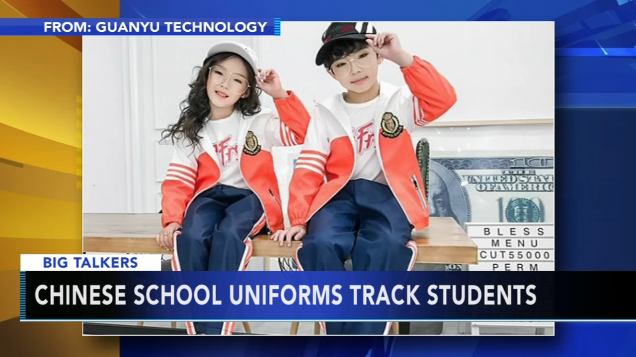 Chinese schools testing smart uniforms that track students locations. Sharrie Williams reports during Action News at 4 p.m. on January 3, 2019.