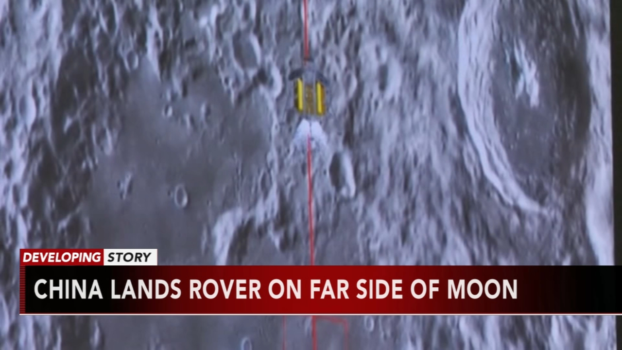 China becomes first to land on dark side of the moon. Matt ODonnell reports during Action News Mornings on January 3, 2019.