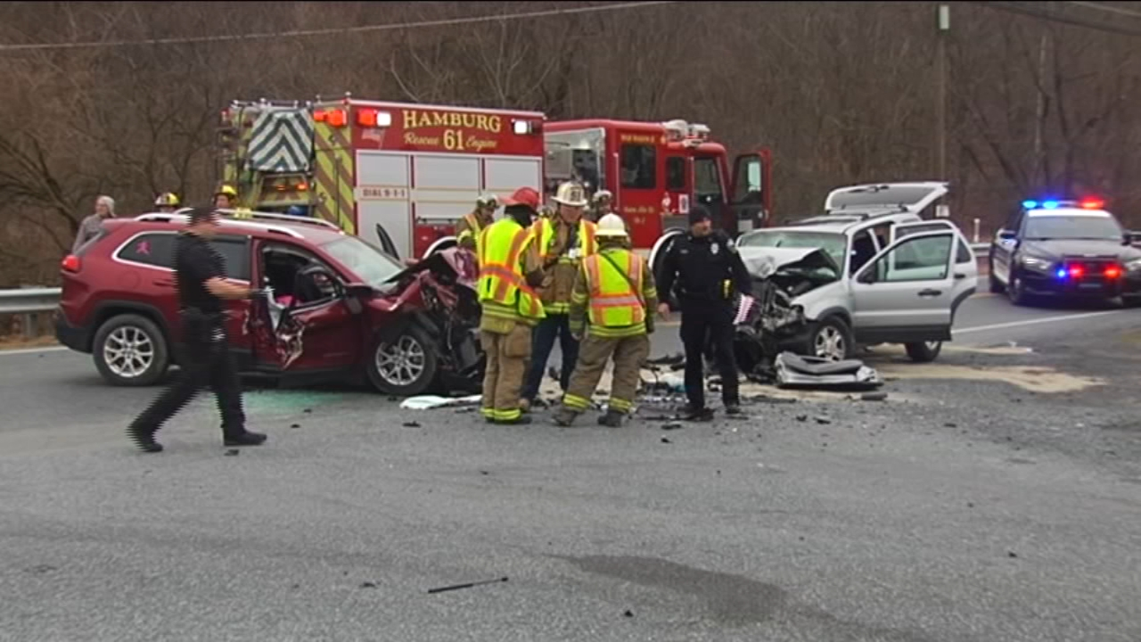 Police seek nurse who helped crash victims in Berks Co. Watch this report from Action News at 4pm on January 3, 2019.