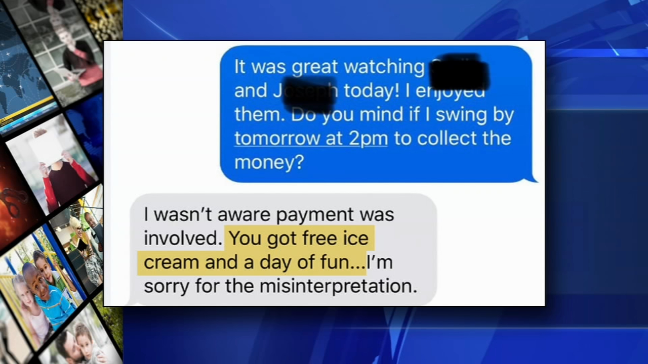 Mother refuses to pay babysitter, tries paying in ice cream and fun instead. Alicia Vitarelli reports during Action News at 4 p.m. on January 4, 2019.